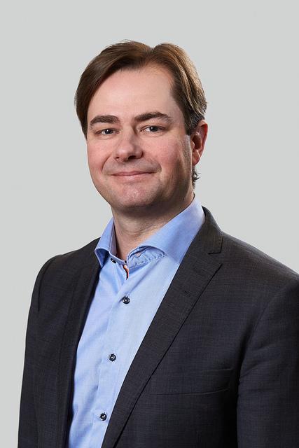 Statssekretær Lars Jacob Hiim. Han Har Ansvar For Rompolitikk I Nærings- Og Fiskeridepartementet.