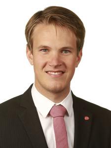 Torstein Tvedt Solberg representerer oposisjonen på Stortinget og er opptatt av romvirksomheten i Norge.