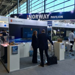 Norway Pavilion At IAC Bremen 2018.
