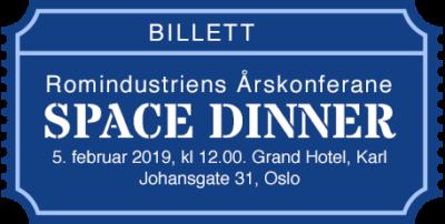 Billett Space Dinner 2019