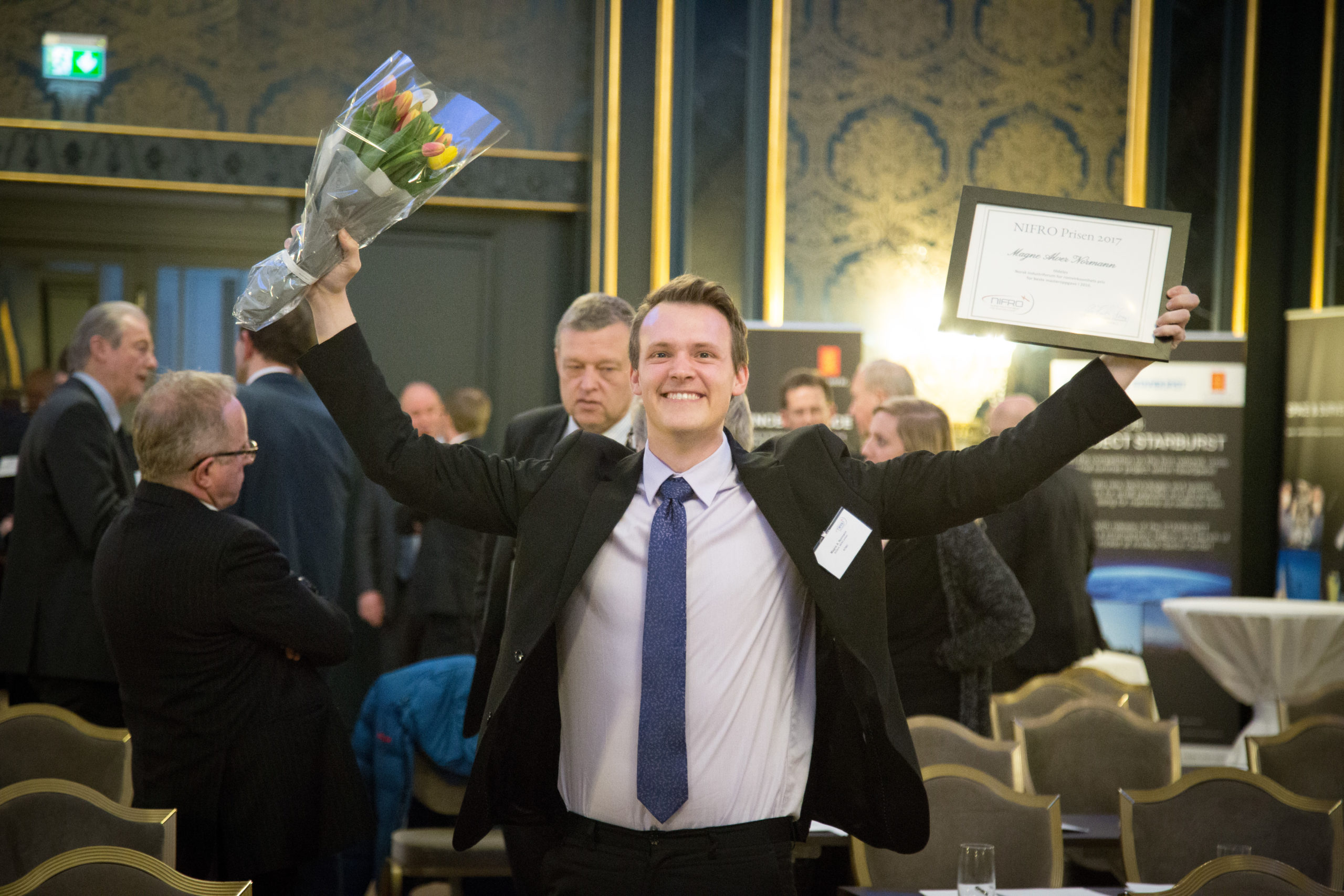 Vinneren av NIFRO prisen i 2018 var Torgeir Brenn
