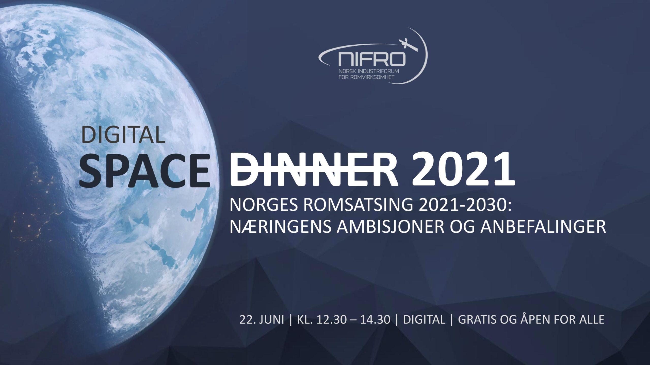 Digital Space Dinner 2021